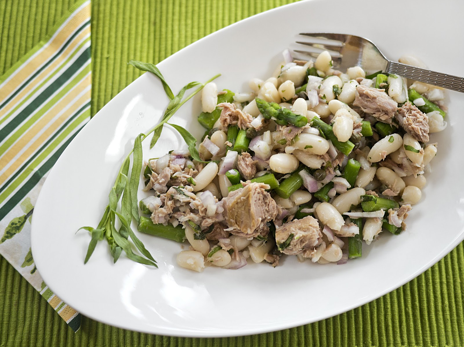 Tuna, White Bean and Asparagus Salad 2