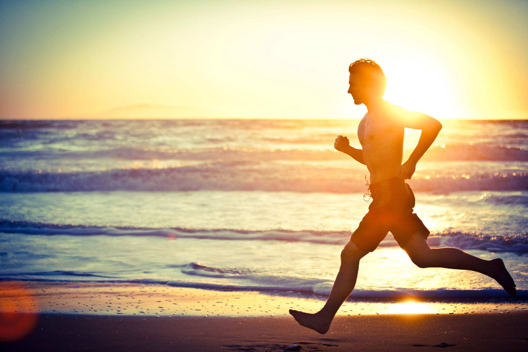 man-running-sunset
