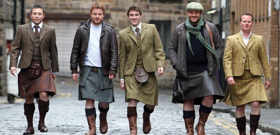 Kilts Promote Male Fertility, Masculine Image, Scottish ...  Kilts Promote M...